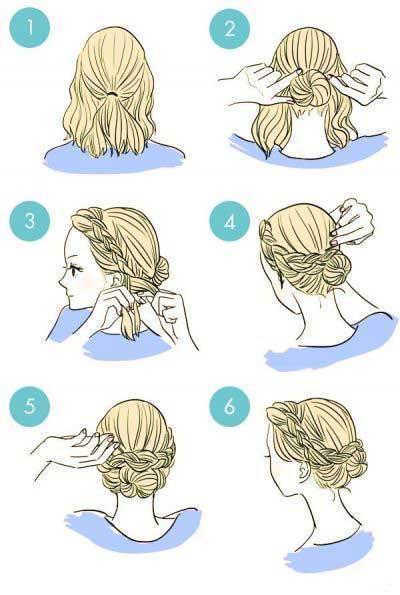آموزش چند مدل موی زیبا و آسان