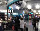 تصاویر درگیری و ضرب و شتم سه زن ایرانی در فرودگاه استانبول