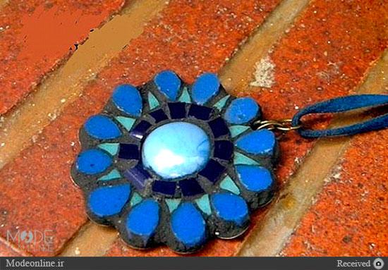 جواهرات دست ساز موزاییکی سیمانی