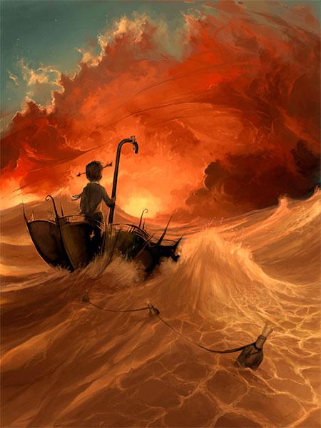 نقاشی های هنری دیجیتالی سیریل رولاندو