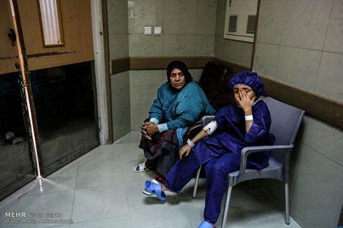 انیسه بیمار شکاف کام  درمان شد