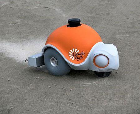 تصاویر روبات نقاش سواحل