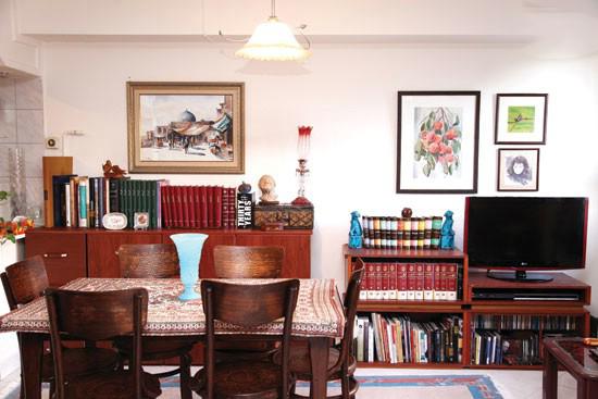 تلفیق چیدمان مدرن و سنتی آپارتمان مسعود فروتن