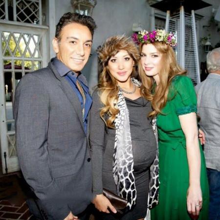 تصاویر جشن تولد میا و ملینا همسر و دختر شادمهر عقیلی