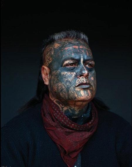 عکس های شرور ترین و بزرگترین باند خلافکار نیوزیلند