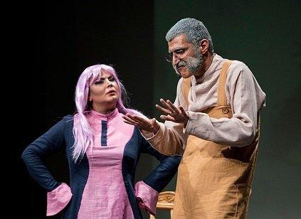توقیف نمایشی که بازیگران زن تئاتر آن بی حجاب هستند