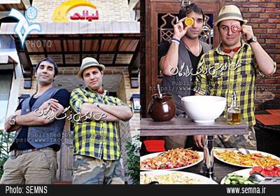 رستوران جواد عزتی و هادی کاظمی