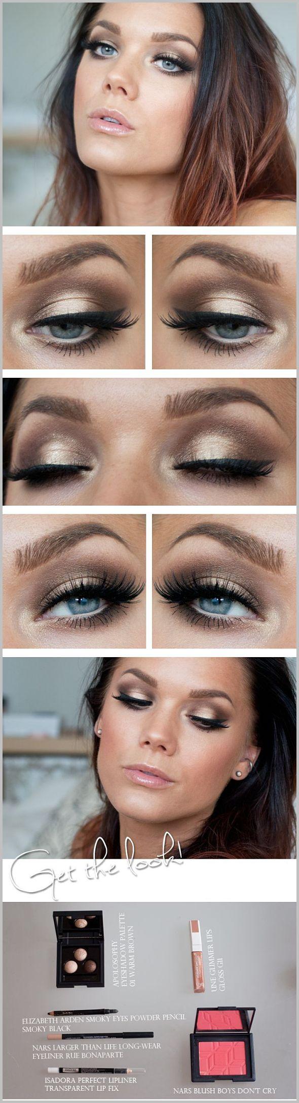 مجموعه کامل از مدل های جدید آرایش چشم و آرایش ابرو