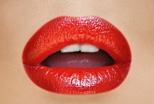 جدیدترین مدل آرایش لب با رژ لب در رنگ های متفاوت