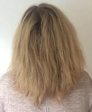 موهای صاف و لخت با نانو کراتین فقط 750000 تومان
