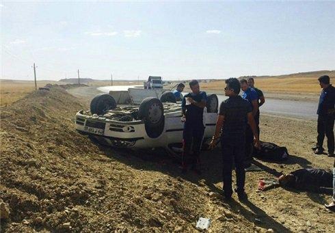تصادف و واژگونی مرگبار سه ملی پوش کاراته ایرانی