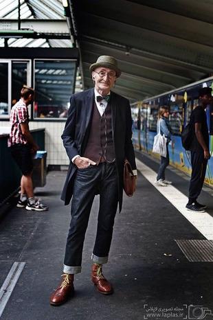 انتخاب خوش تیپ ترین پیرمرد دنیا!