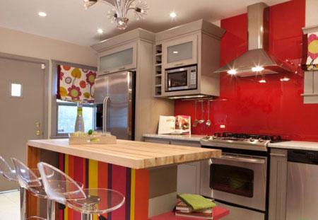 زیباترین چیدمان دکوراسیون آشپزخانه
