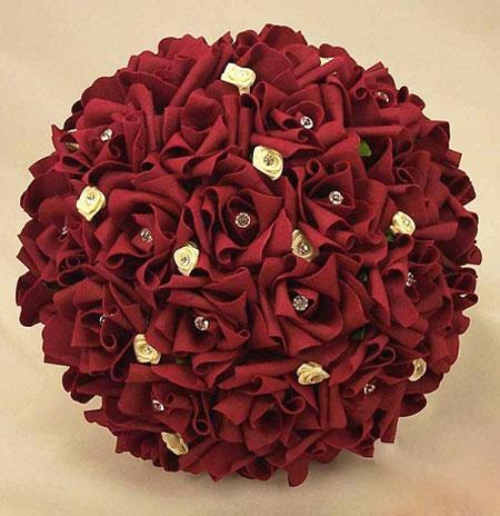 جدیدترین و شیک ترین مدل دسته های گل عروس 2017