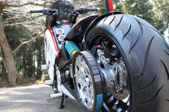 موتورسیکلت الکتریکی zec00 فراتر از زمان