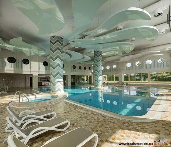 الهام از کشتی تایتانیک در طراحی هتل زیبای ترکیه ای