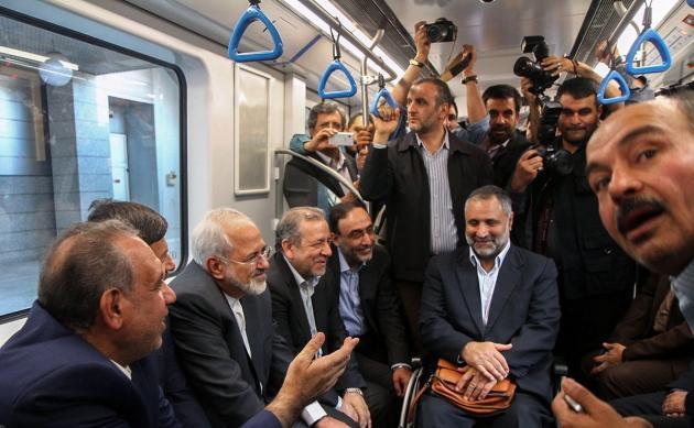 افتتاح خط یک قطار شهری اصفهان و کلنگ زنی خط دوم مترو اصفهان