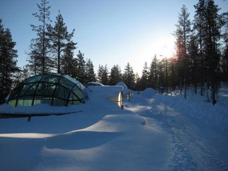 تصاویر روستای زیبای اسکیمو در فنلاند آشنا شوید