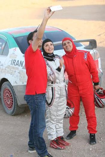 گفت و گویی خواندنی با لاله صدیق راننده رالی خاورمیانه