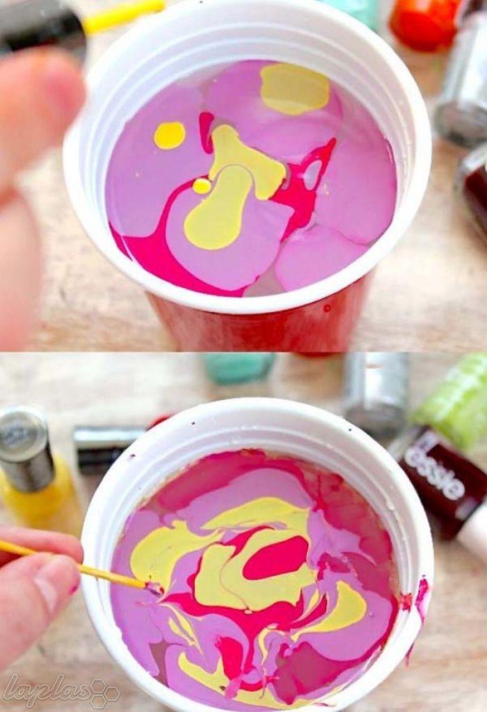 آموزش رنگ کردن تخم مرغ با لاک