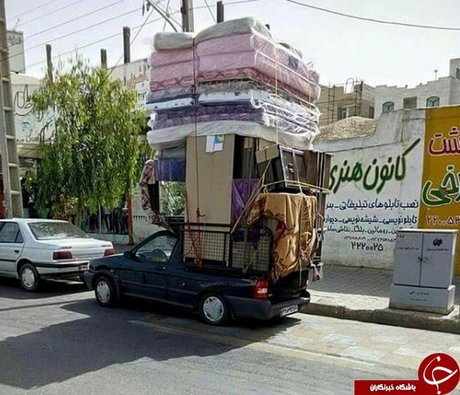 این پراید یا کامیون؟
