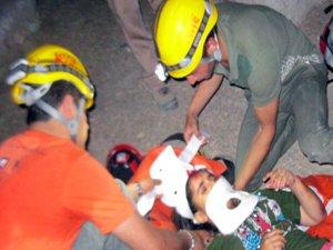 دختر 14 ساله پس از سقوط از کوه صفه نجات پیدا کرد