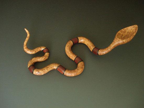 قاشق های چوبی هنری