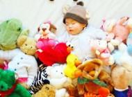 ایده خلاقانه یک مادر هنرمند برای عکاسی از فرزندش