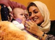 سومین عکس منتشر شده از لیانا دخترک زیبای مهناز افشار