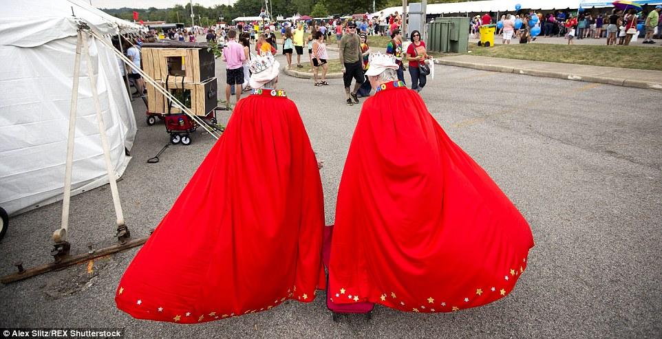 فستیوال 2 قلو ها در اوهایو