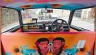 دیزاین جالب درون تاکسی های هندی
