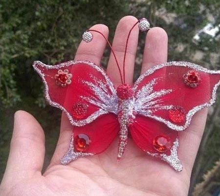 آموزش ساخت پروانه جورابی