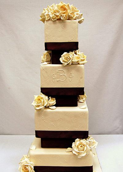 مدل کیک های عقد و عروسی 2015