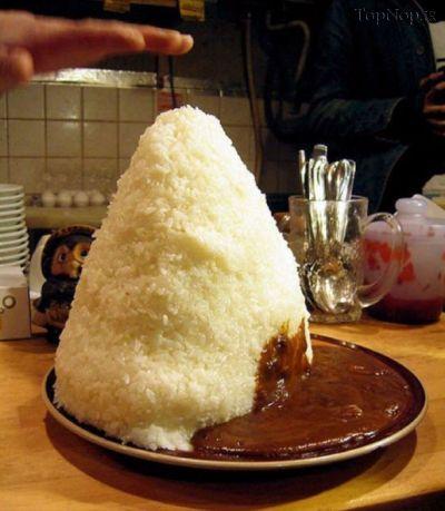 حجیم ترین غذاهای ژاپنی