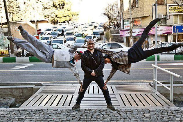 تصاویر عجیب از دختران پارکور تهران