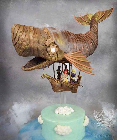 رقابت خلق عجیب ترین کیک دنیا