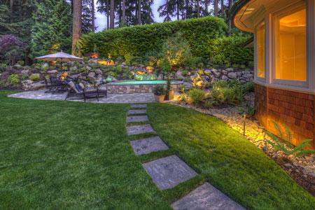 ایده های زیبا از سنگ فرش های باغ و حیاط و ویلا