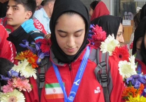 کسب مدال طلای گرندپری 2015 توسط کیمیا علیزاده