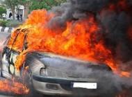 ترکیدن باطری موبایل باعث به آتیش کشیدن اتومبیل در پارکینگ شد