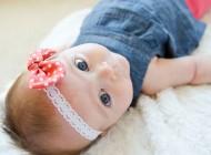 طرز ساخت تل پارچه ای برای نوزاد