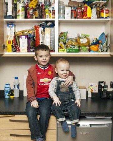 غذاهای مضری که برای این دو کودک مفید است