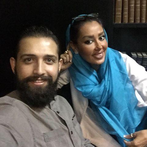 عکس های سلفی میلاد کی مرام و محسن افشانی با خانم دندانپزشک!