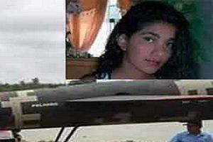 قطع شدن سر دختر جوان با هلیکوپتر در شبکه های تلوزیونی