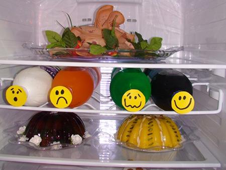 جدیدترین نمونه های مدل تزیین یخچال عروس 94