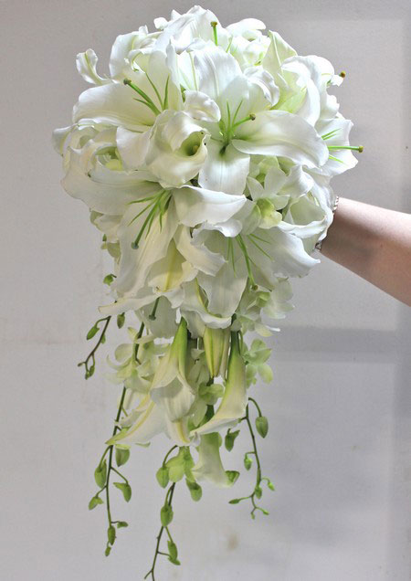 جدیدترین و شیک ترین مدل دسته های گل عروس 2015