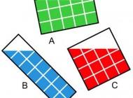 تست هوش جالب مساحت رنگ ها