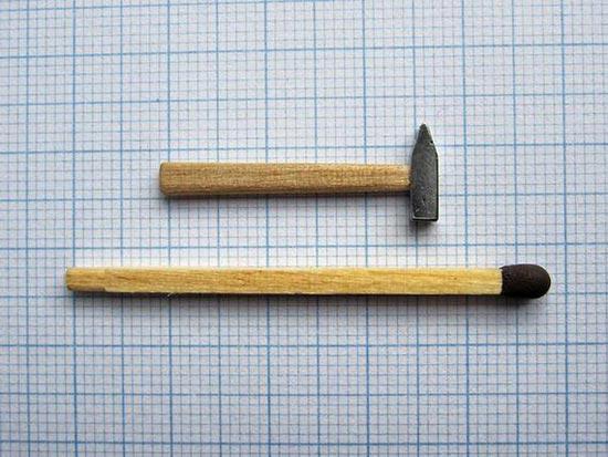 تصاویر جالب از دنیای مینیاتوری اندازه کبریت