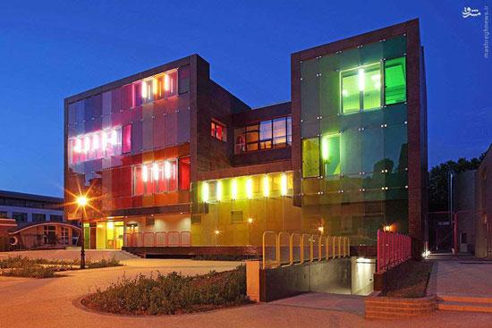 تصاویر جذاب از رنگارنگترین ساختمان های دنیا