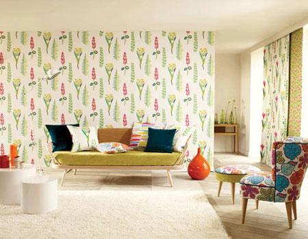 انتخاب زیباترین کاغذ دیواری مناسب برای خانه شما
