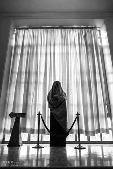 ساخت تندیس عزت الله انتظامی توسط علیرضا آسان لو